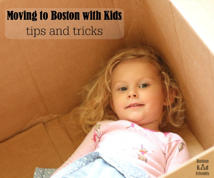 Moving to Boston with a family. Easy ways to get here for not a lot of money and where to stay.