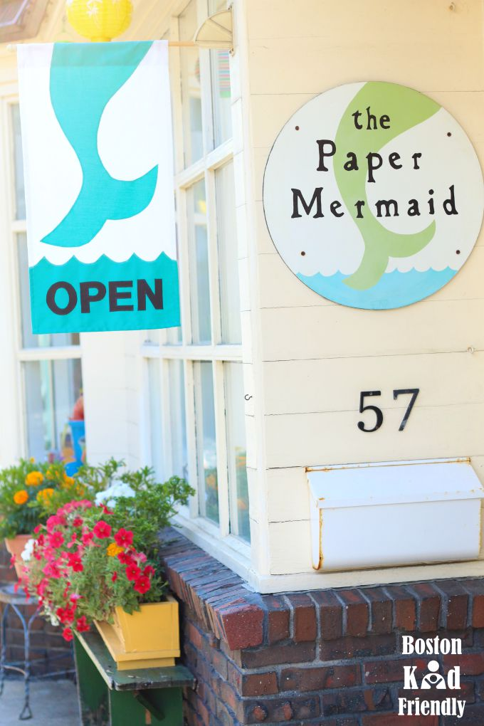 paper mermaid kids store rockport ma