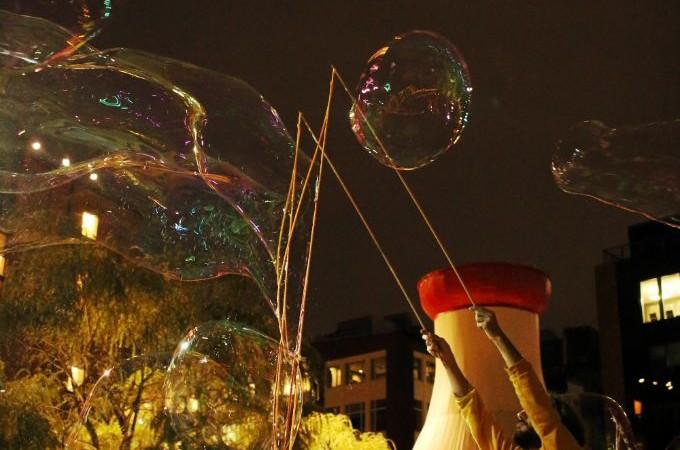 Boston Children's Museum Bubble Daze