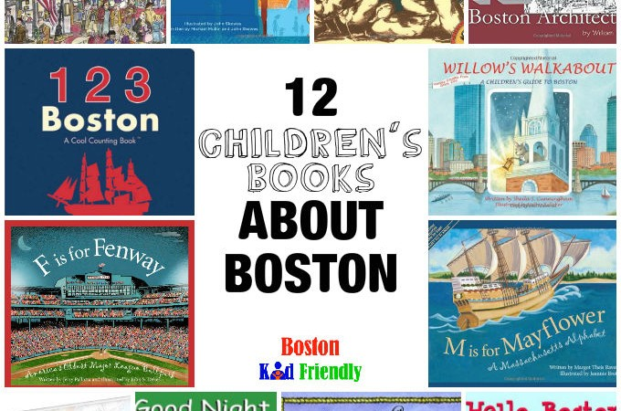 12 Children's Books about Boston