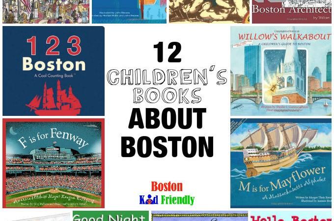 12 Children's Books about Boston