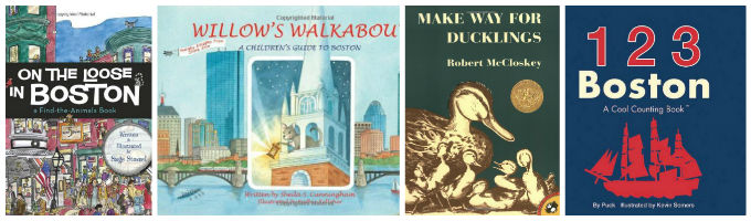 childrens literature set in Boston