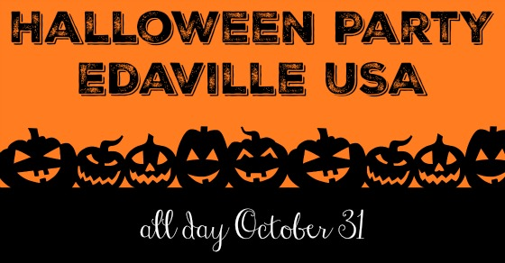 Halloween Party at Edaville USA Massachusetts