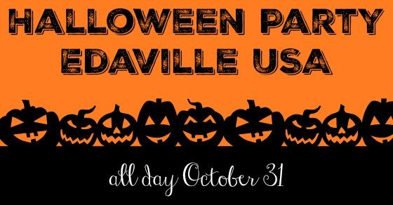 Halloween Party at Edaville USA Massachusetts