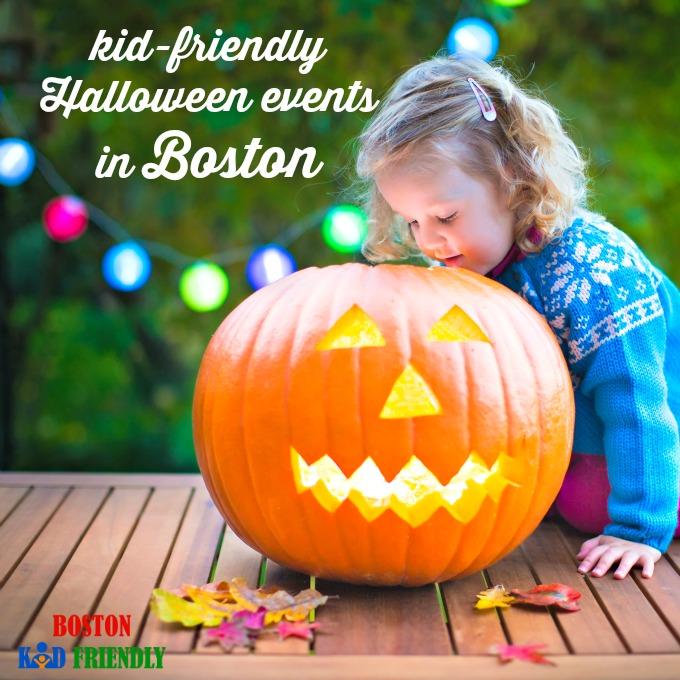Kid &Family Friendly Halloween Events in Boston