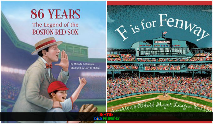 Beautifully illustrated children's literature for Red Sox fans and Boston baseball lovers.