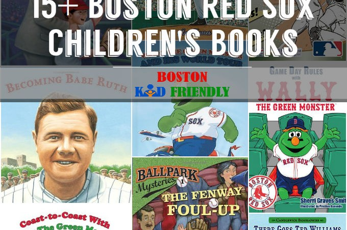 Boston Red Sox Children's Books