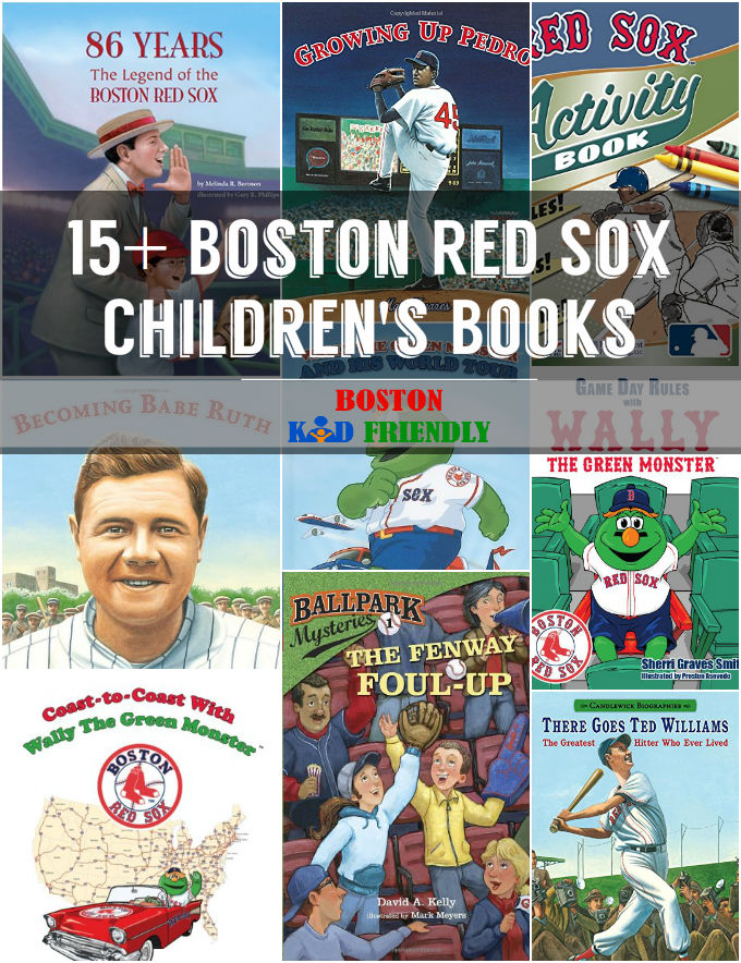 Boston Red Sox Children's Books. Enjoy Fenway, Wally, and Pedro and so much more in between. Everything from a complete list of Wally the Green Monster books to beautifully illustrated player biographies.