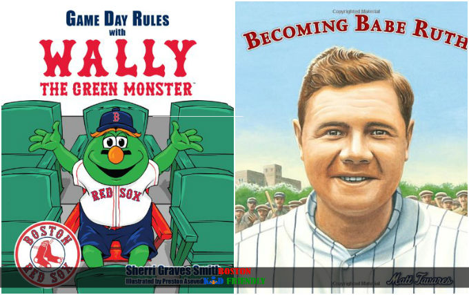 A great list of books for Red Sox fans of all ages