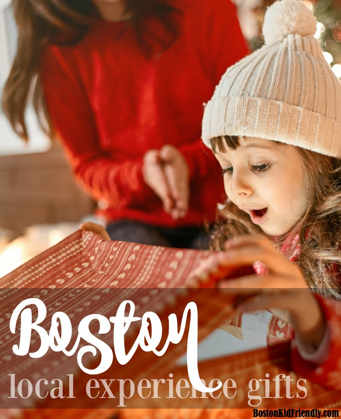 "Make memories instead of collecting ""things"" by gifting and experience gift local to Boston. Here are ideas and practical ways to make it something that can be wrapped."