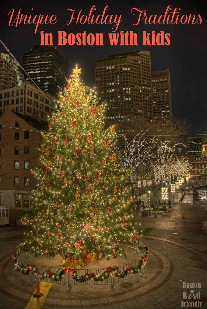 The best & most unique events in Boston to do with kids this Christmas and Holiday season.