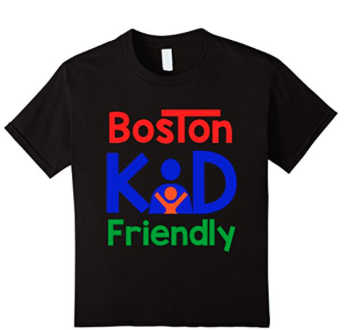 Boston kid friendly shirt