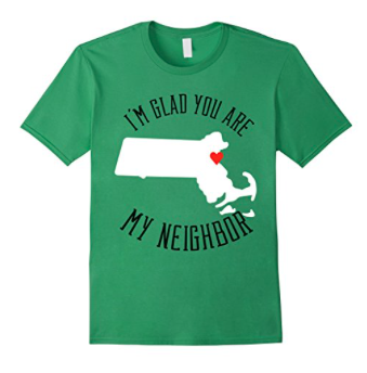 MA neighbor bkf shirt