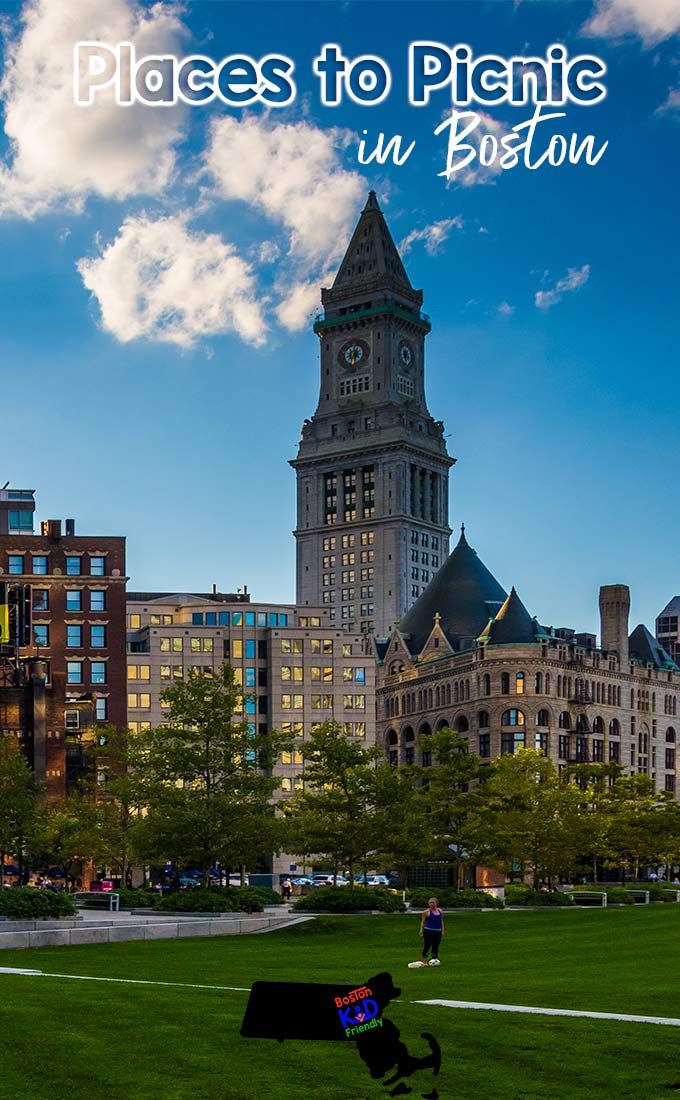 Where to take the kids on a picnic in Boston
